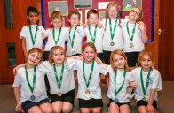 Heath Academy Trust held an inter schools Dodgeball competition for their first schools at Three Legged Cross. The Three Legged Cross team.