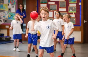 Heath Academy Trust held an inter schools Dodgeball competition for their first schools at Three Legged Cross.