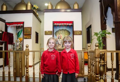 Pupils from all Heath Academy Trust schools visited the Vedic Society Hindu Temple in Southampton.